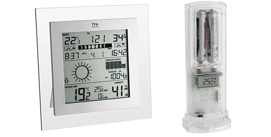 Estacion meteorologica inalambrica TFA Square Plus comprar