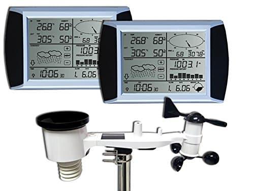 estacion meteorologica Froggit WH1080 SE 2 pantallas