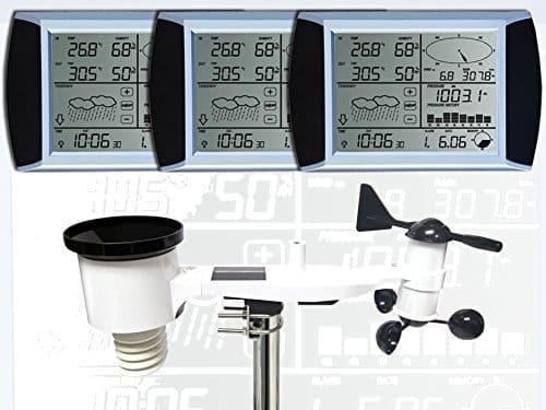 estacion meteorologica Froggit WH1080 SE 3 pantallas