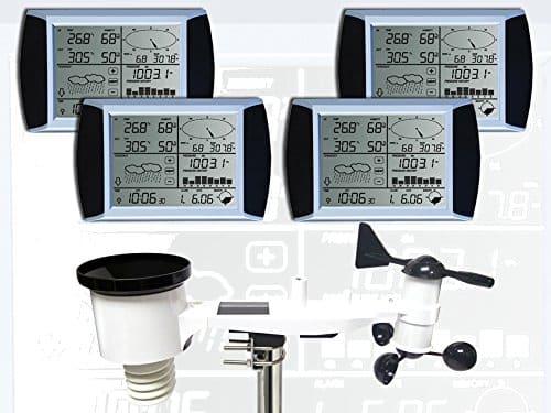 estacion meteorologica Froggit WH1080 SE 4 pantallas