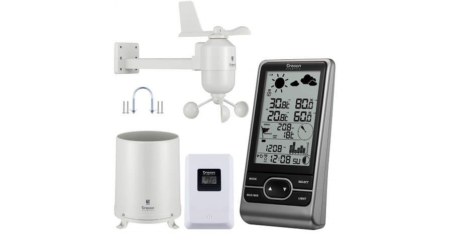 estacion meteorologica profesional Oregon Scientific WMR86NX comprar