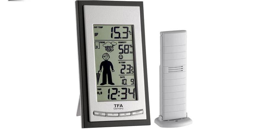 estacion meteorologica para casa TFA 35.1084