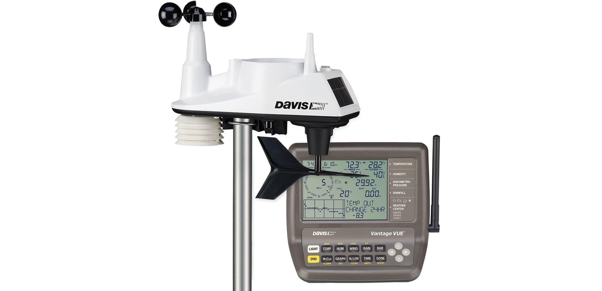 estacion meteorologica profesional Davis Vantage Vue 6250