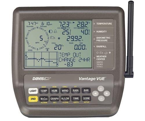 estacion meteorologica profesional compelta Davis Vantage Vue