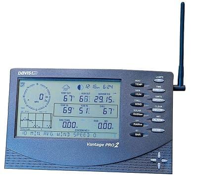 estación meteorológica automática davis vantage pro2