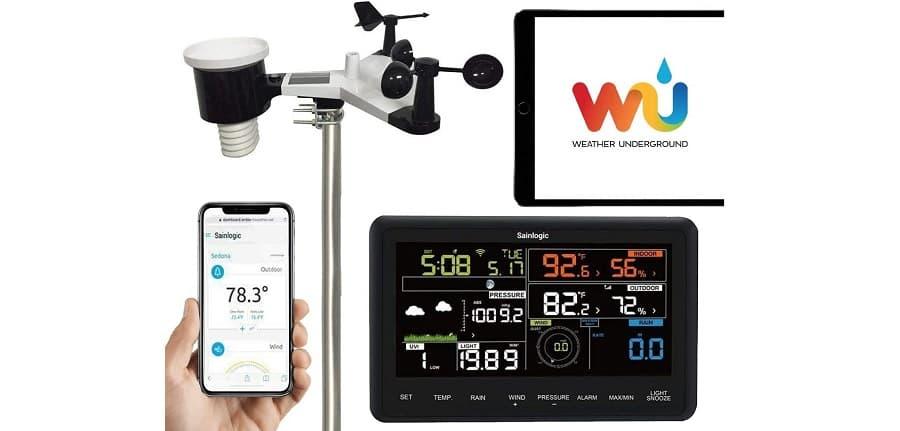 sainlogic ws 3500 estación meteorológica inalámbrica