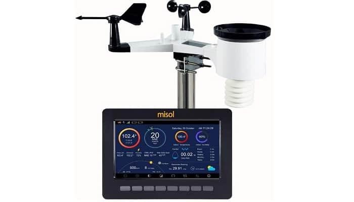 ✅ Estacion Meteorologica Inalámbrica WiFi MISOL HP2550-1